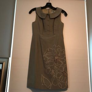 Anthropologie-Tabitha size 2 grey dress.